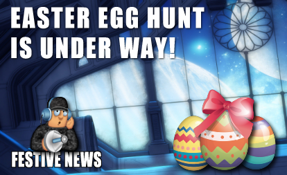 Easter Egg Hunt Begins