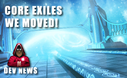 Core-Exiles – Location Change